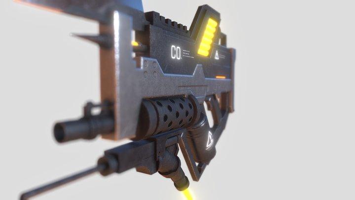 Carbon Monoxide Gun 3D Model