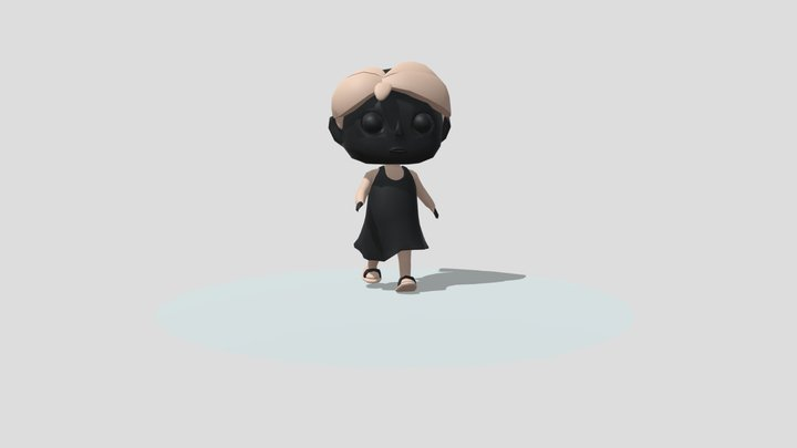 Animation of Character 3D Model