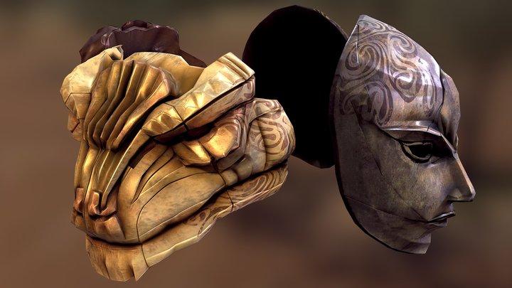 Skyrim Tribunal Masks 3D Model