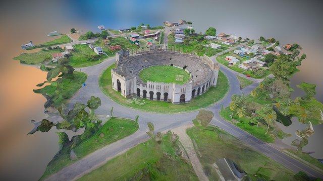 3D Plaza De Toros - Colonia - Uruguay 3D Model