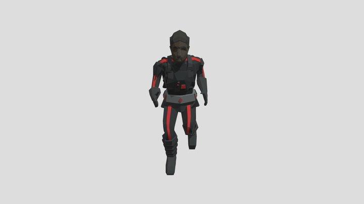 Moff Run Animation 3D Model