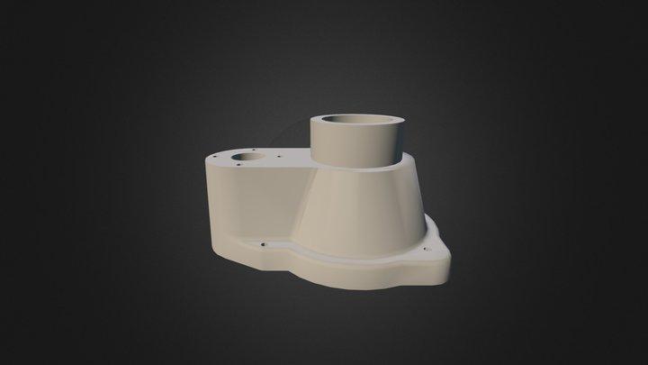 Socle Etude Fonderie  3D Model
