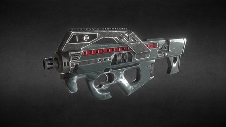 SMG for project PANTROPY 3D Model