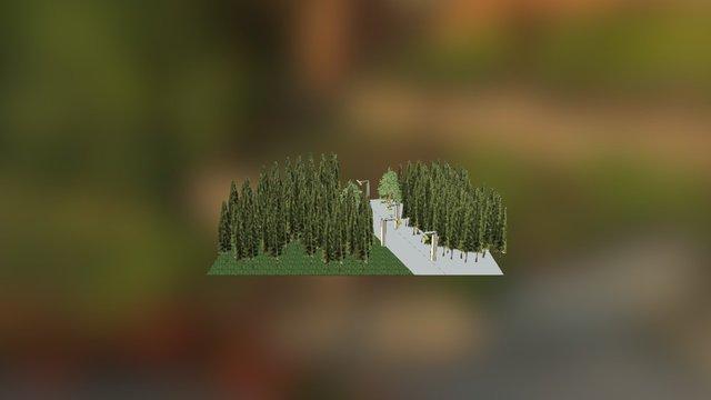 Aambos Lantaarnpalen 3D Model