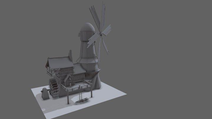 Wip - Seafares Isle 3D Model