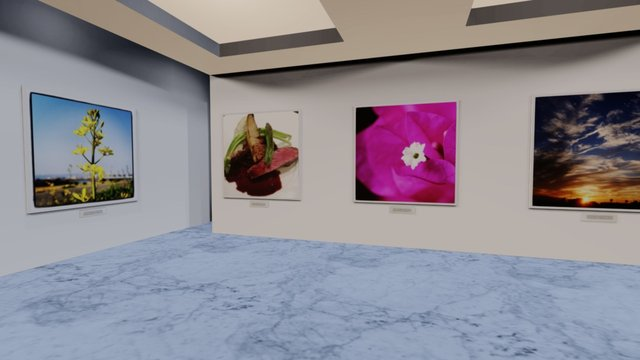Instamuseum for @shogentaro 3D Model
