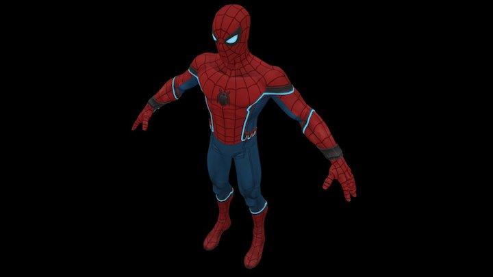 The Amazing Spiderman 3D Model