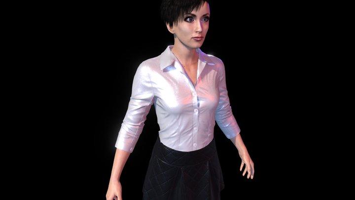 Woman AK 3D Model