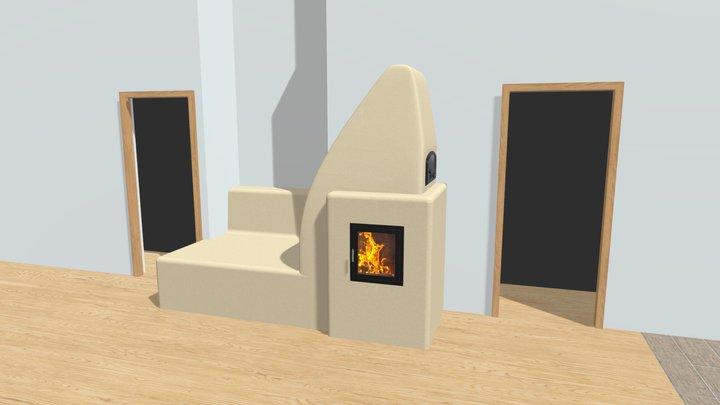 Kamna Kalmanovi ver.01 3D Model