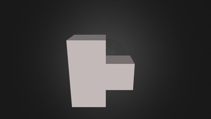 white piece 3D Model