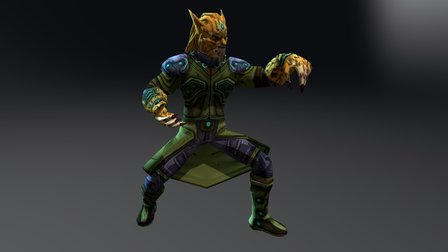 Agama - Game Character - Anim Set [Animation] 3D Model