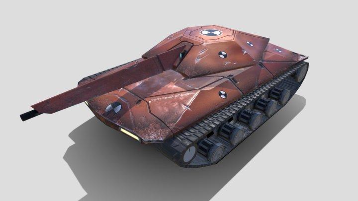 """""""Test Tank"""" by z404 3D Model"""