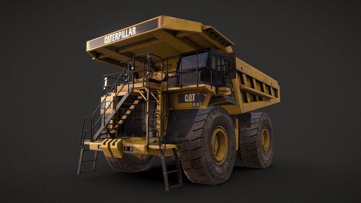 Caterpillar 785D Mining Dump Truck 3D Model