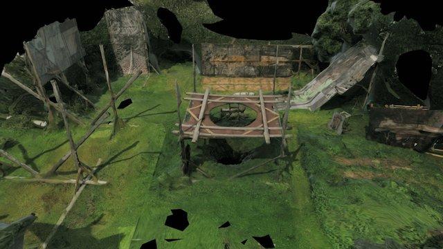 Raitis Hrolovičs, izrāde - bedre 3D Model