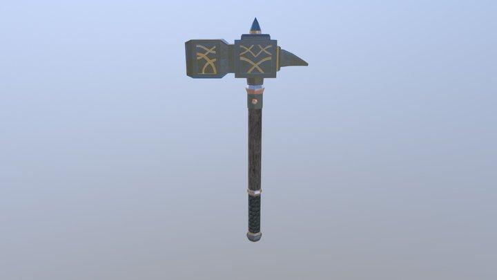 Hammer2 3D Model