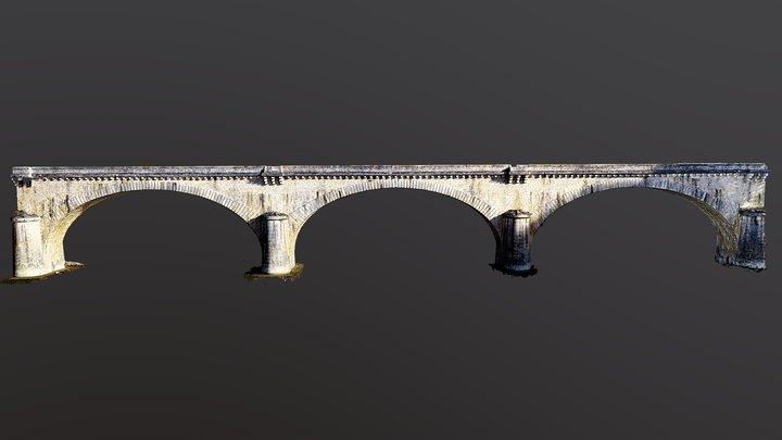 Pont de Feugarolles 3D Model