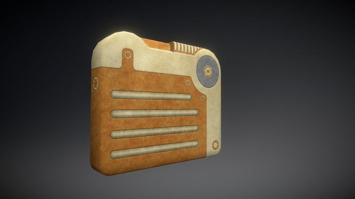 Fallout 4 - Improved Vanilla Holotape 3D Model
