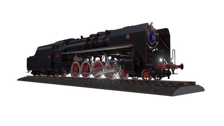 "Steam locomotive 475.1 ""Noblewoman"" 3D Model"
