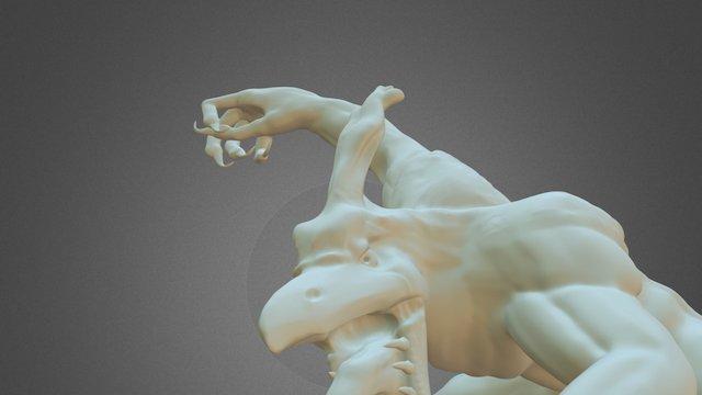 Cockatrice 3D Model