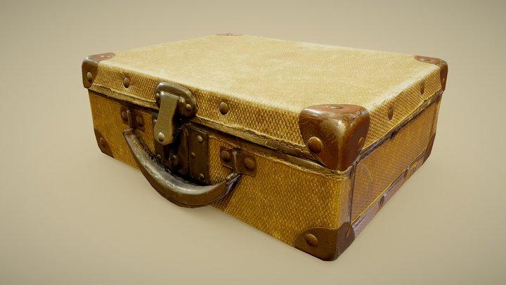 Vintage Suitcase [derivative] 3D Model