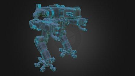 Mechanical Robot 3D Model