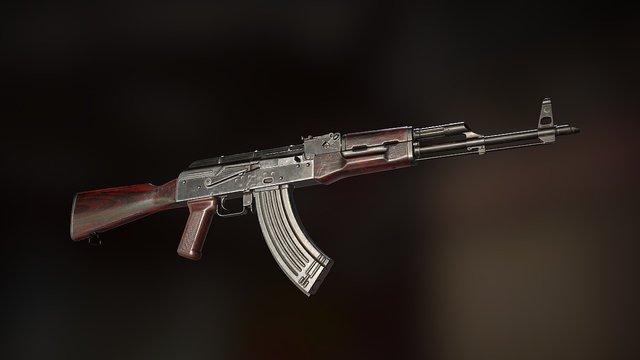 AKM - Ultimate Weapon Tutorial 3D Model