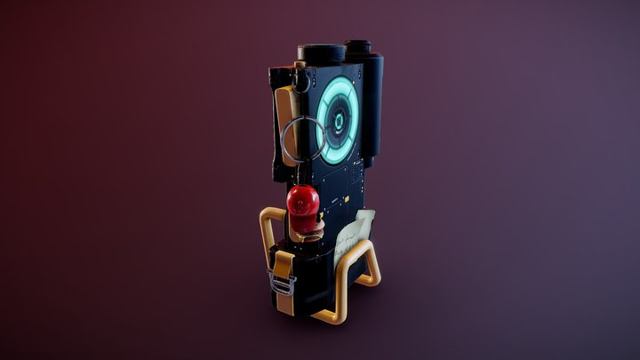 Electronic Device 3D Model