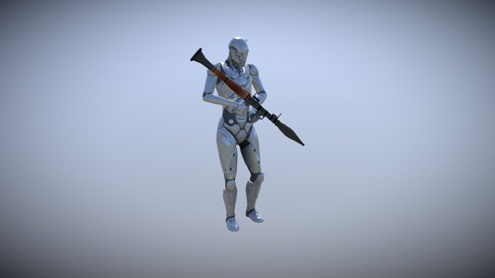 RPG / Big Gun Basic: Mocap Animations Pack 3D Model