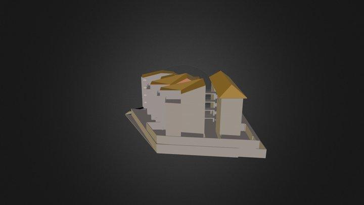 Edicifio Zeus II 1 Mod 3D Model