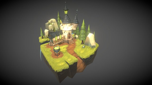Witch Land 3D Model
