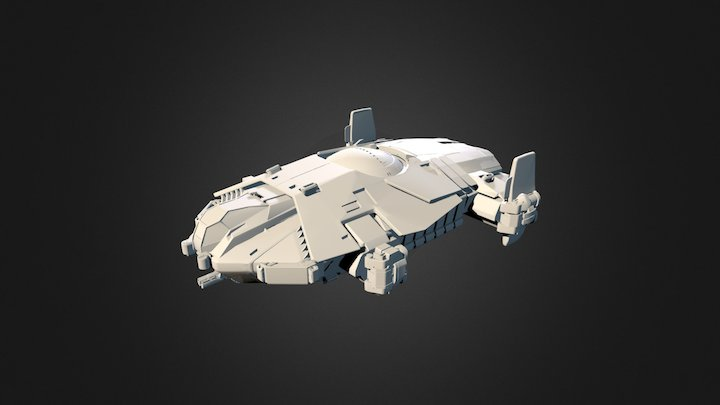 Anvil Aerospace Terrapin (Old) 3D Model