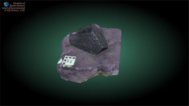Fluorite 3D Model