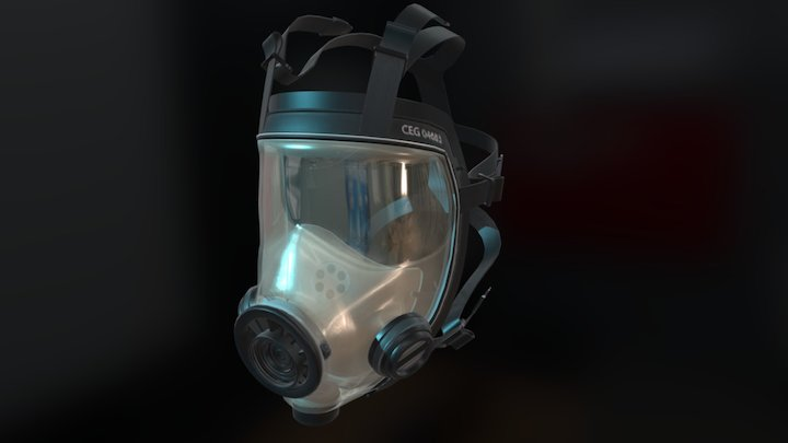 Chemical Mask (Updated) 3D Model