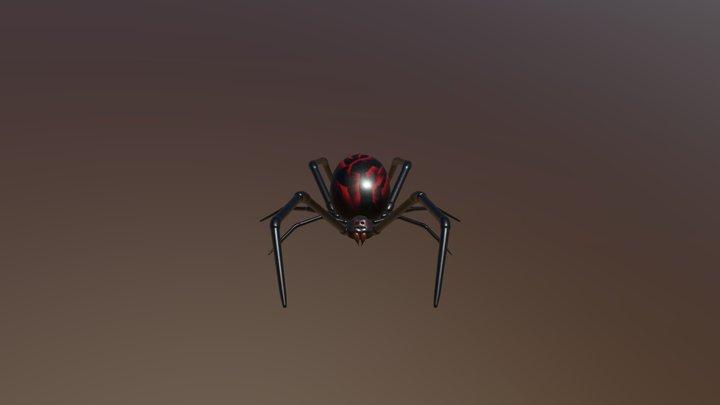 Free little spider 3D Model