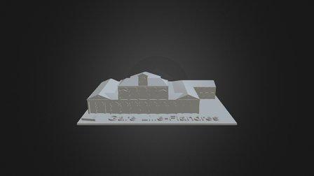 La Gare Lille Flandre 3D Model