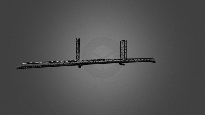 Memorial Bridge Model 3D Model