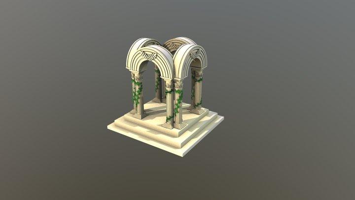 Garden Arch 3D Model