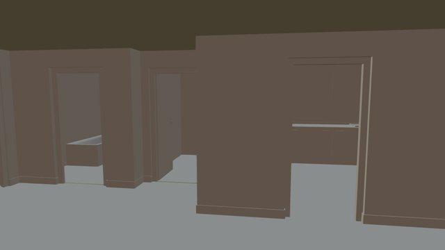 Maison Plomb Baked 3D Model