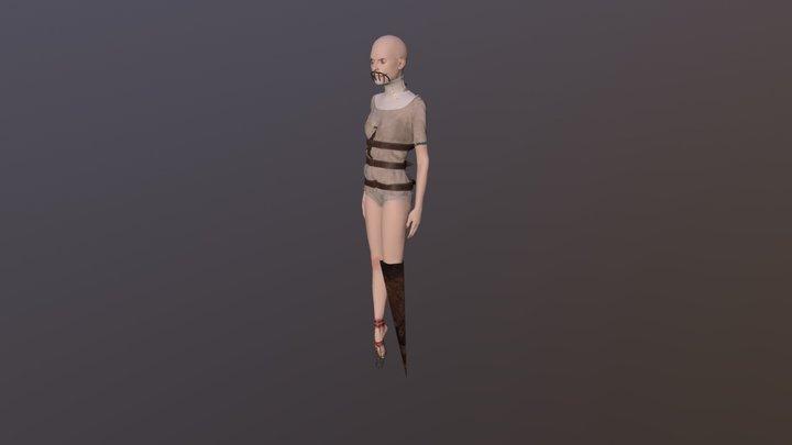 Character WIP 3D Model