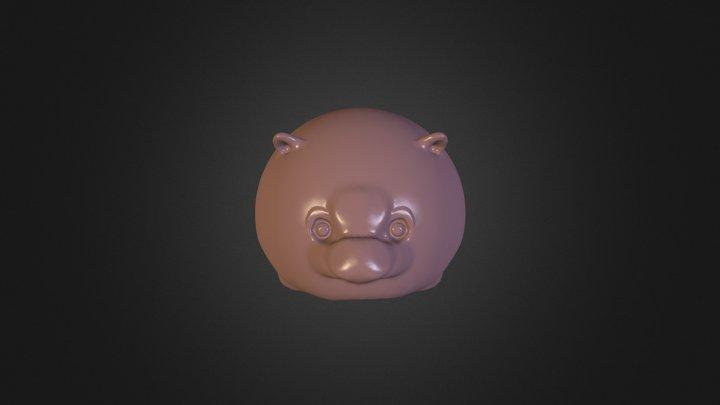 Cat fat 3D Model