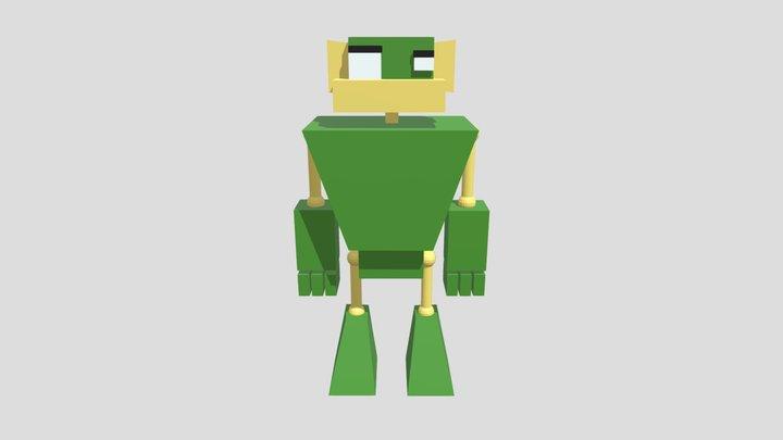 Robot _01 3D Model