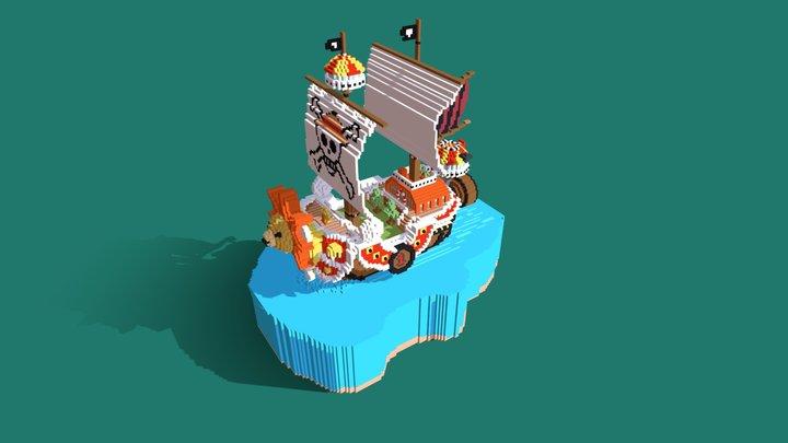Thousand Sunny - One Piece 3D Model