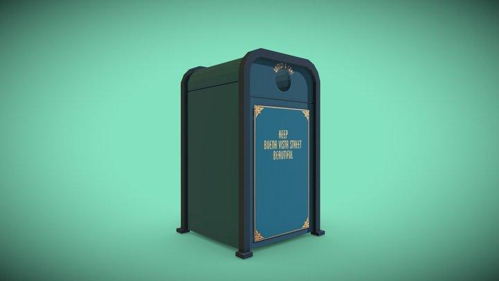 Buena Vista Street Recycle Bin