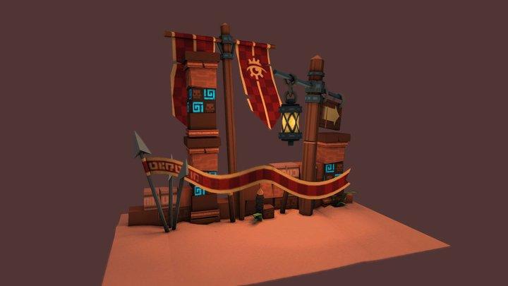 Ruin01 3D Model