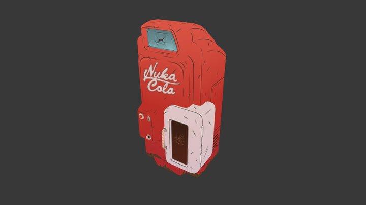 Nuka Cola 3D Model
