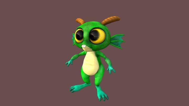 Lizard Guy - aka Murky 3D Model
