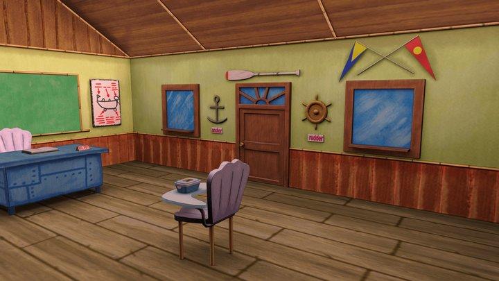 SpongeBob SquarePants Boating School 3D Model