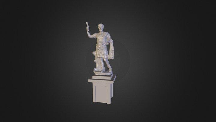 roman_statue_color 3D Model