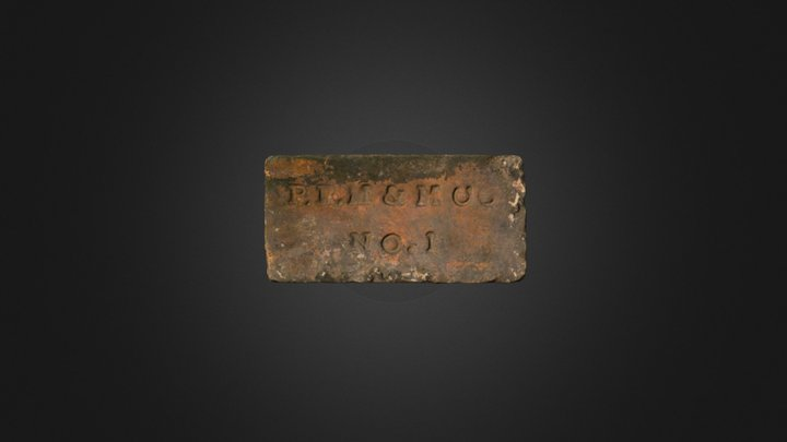 Brick from the Parliament Site 3D Model