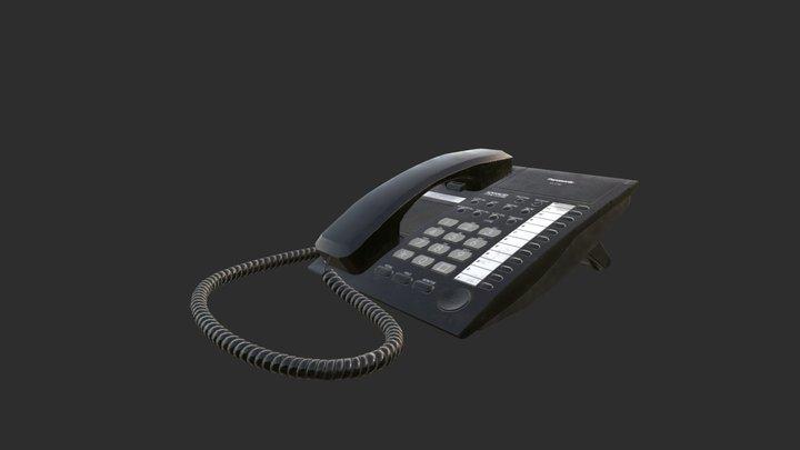 Panasonic KX T7750 3D Model